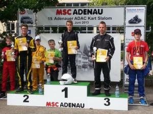 K4 Siegerehrung Adenau